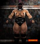 Tynashe Jones - woman wrestler - 7ft 10in - 02 by theamazonclub