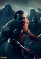 The Ballad of Mike Haggar by SpineBender