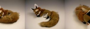 Sleepy Red Fox by WhittyKitty