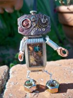 Steampunk Mini Robot by rowan300