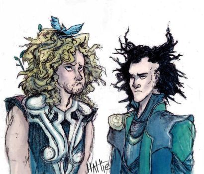 Gods and Their Bad Hair Days by Mad-Hattie