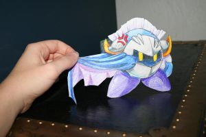 Meta Knight paper child by StarFaerieNomad