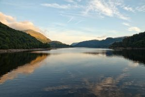 Thirlmere Sunset by parallel-pam