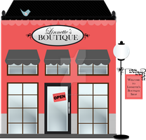 Boutique Shop Clipart by nenalinda82pr