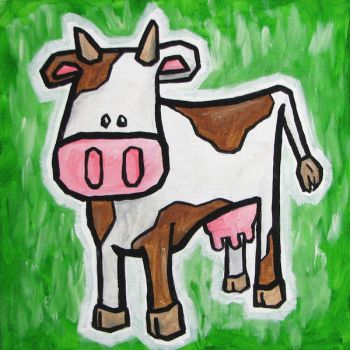 Cow by alispagnola