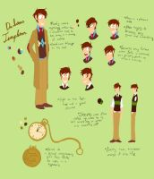 Dr. T Reference Sheet by WeirdLilArtist
