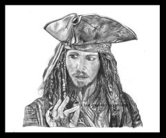 captain Jack Sparrow by last-trace