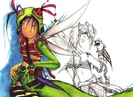 Fairy Copic Colored by ShenKhort