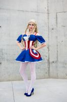 Miss Captain America by ForeverAdel