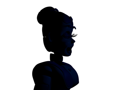 [C4d] Ballora in The Scooping Room by LuckyRabbit31