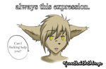 #justkeiththings- always this expression(Twokinds) by lushitasakabe