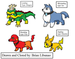 Fakemon Dogs 2 by Brian12