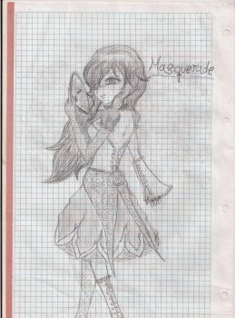 A fictional Masquerade character by CristelAl