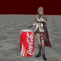 Lightning with coca-cola by White---Devil