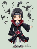Itachi  by BloomingShosho-chan