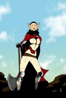 Lady Sif [colored] by danielsingzon