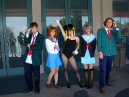 The Melancholy of Haruhi by SparksMcGhee