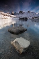 Late afternoon at Allos by vincentfavre