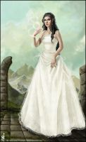 . Elvish Princess . by Aruyinn