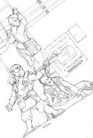 0811 Shadowrun sketch by Pachycrocuta