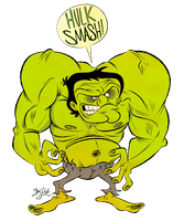 Hulk SMASH! by Themrock