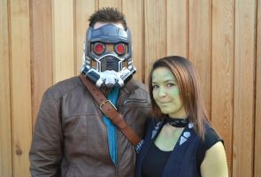 Star Lord and Gamora Cosplay (1) by masimage