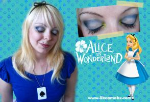Makeup Tutorial Alice Disney by cherrybomb-81