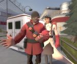 TF2: While Quietly by Shelest92