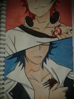SaruMi Coloured by Shinigamichick39