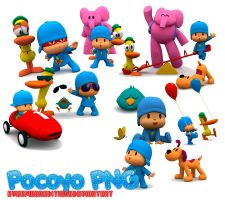 Pocoyo PNG by EverMoonEditions