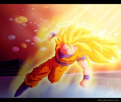 Goku Super Saiyan 3 by RobCV