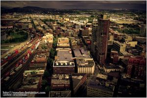 The old Vancouver city by MmeLeo
