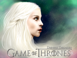 Daenerys Targaryen - Game of Thrones by HaitiKage