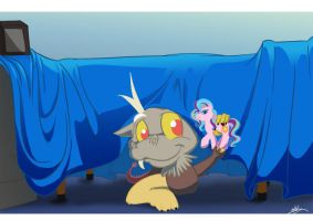 Little Discord, and his own world. by bunnimation