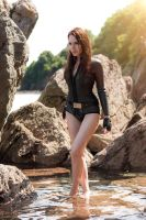 Lara Croft Tomb Raider Underworld Wetsuit Diving by milla-s