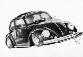 Black Beetle by resistanceispointles