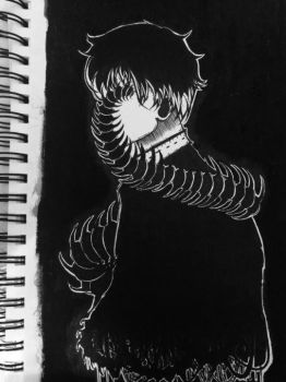 kaneki by real-mannequin