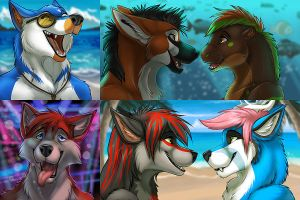 Summertime Icons- FA Commissions by Ifus
