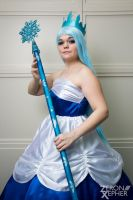 Queen Frostine Cosplay: Welcome to Candyland by HatterSisters