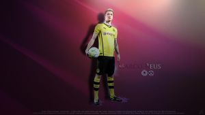 Marco Reus Wallpaper by ByWarf