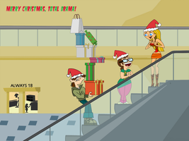 Merry Christmas, Total Drama by ToonYoungster
