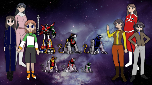 Azumanga Daioh audition for Voltron by PeachLover94