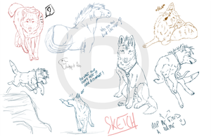 Sketch _ Unfinished Drawings by Dheyline