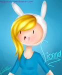 Fionna by Potatoo-Gwen