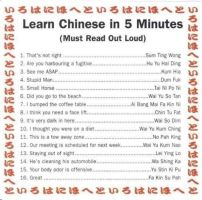 LOL. Learn chinese in 5 minutes. by Mugsh0t