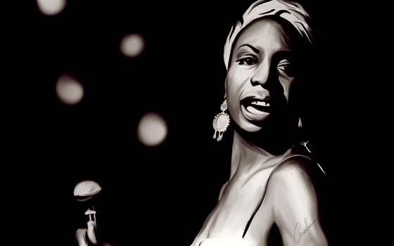 Nina Simone by BeautySandy