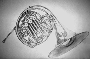 French Horn II by FragileReveries