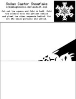 Sollux Captor Snowflake Print-out by OrigamiPhoenix