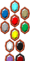 The 11 Life Stones by GuardianMobius