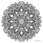 Mandala drawing 29 by Mandala-Jim